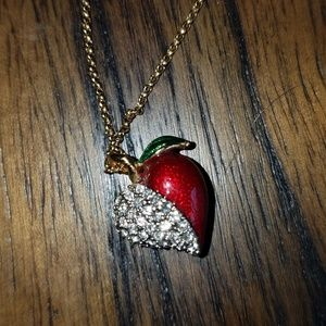 🚨NEW!Authentic Juicy Couture heart/apple necklace